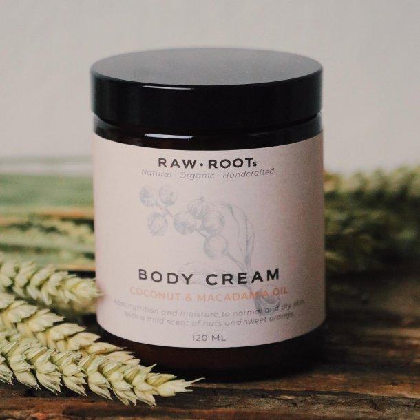 Body Cream with Macadamia and Coconut
